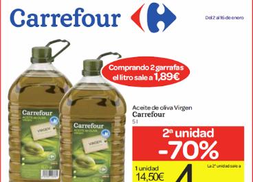 42.000 ευρώ πρόστιμο στο Carrefour για το λάδι